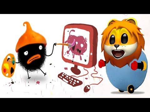ПРИКЛЮЧЕНИЯ ЧУЧЕЛ мультик игра для маленьких детей #3 -игровой мультфильм 2018 Chuchel Черный шарик!