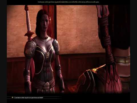 Dragon Age: Origins - Isabela Threesome with Alistair