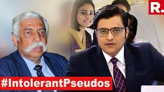 Maj Gen GD Bakshi Exposes Pseudo Liberals | The Debate With Arnab Goswami
