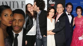 Scandal ... and their real life partners