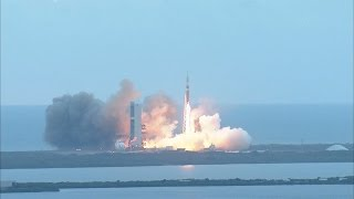 Liftoff of Orion