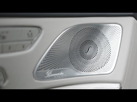 Mercedes Benz Tv The Burmester Sound Experience In The