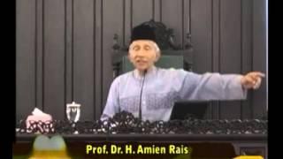 MTA Jihad Pagi 160314 Amien Rais memberi tausiah di pengajian Ahad Pagi