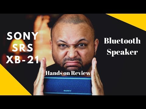 Sony SRS XB21 Unboxing and Hands on Review