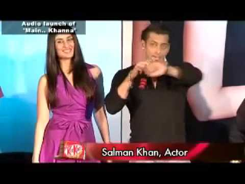 Salman and Kareena ignore each other