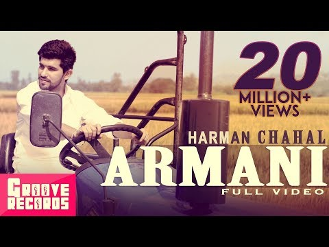 Armani | Harman Chahal | Mr VGrooves | Full Video | New Punjabi...