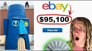We Put Squidwards House On EBAY | Heres What Happened
