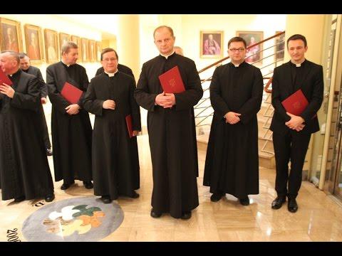 Nowi Kanonicy Archidiecezji Łódzkiej 2016