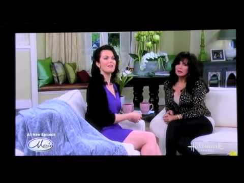 Bellamy Young interview with Marie Osmond part 1