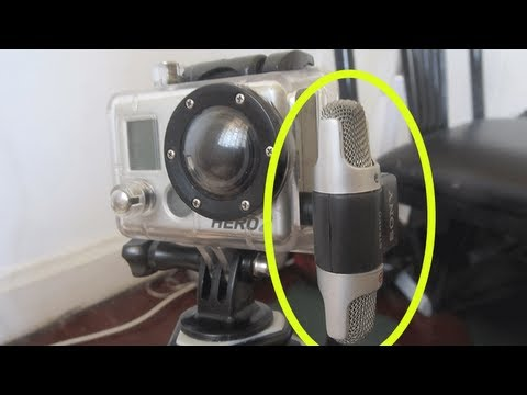 Improve the audio on your GoPro HD Hero 2 Hero 3