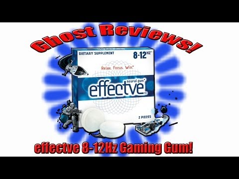 Ghost Reviews!   Effctve 8 12Hz  Gaming Gum! - GhostRidaVC