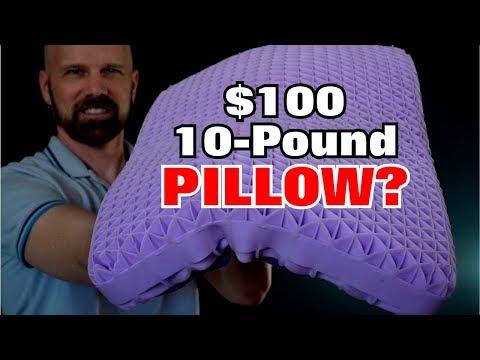 Purple Pillow Review: A 10-Pound $100 Pillow?