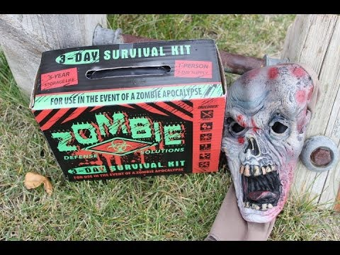 Zombie 3-Day Survival Kit Review  (2014 Warning)