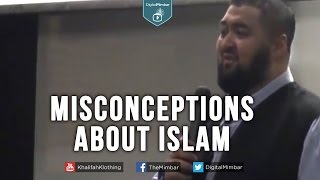Misconceptions about Islam – Navaid Aziz