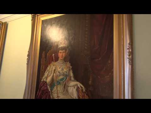 Special Portraits of King George V & Queen Mary at Alberta Legislative Building