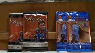 Basketball Cards (Prestige & NBA Hoops)