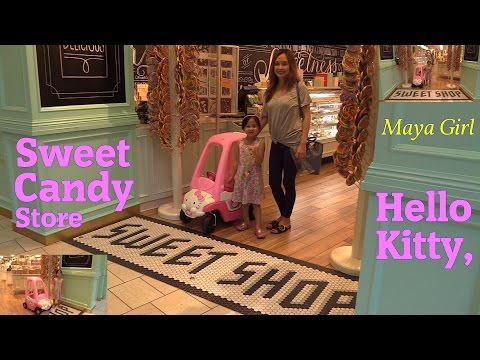 Kids' Channel: Sanrio Hello Kitty Ride-On Car Ride w/ Maya and a Trip to a Candy & Chocolate Store