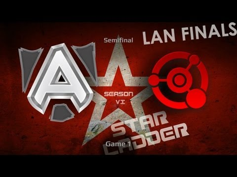 DOTA2 SLTV S6 Lan Finals Alliance vs Quantic Game 1