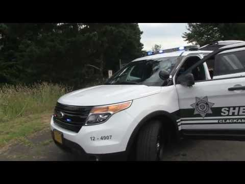Clackamas County Ford Explorer Police Interceptor SUV Patrol Unit