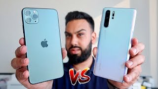 iPhone 11 Pro Max vs Huawei P30 Pro Camera Test Comparison!