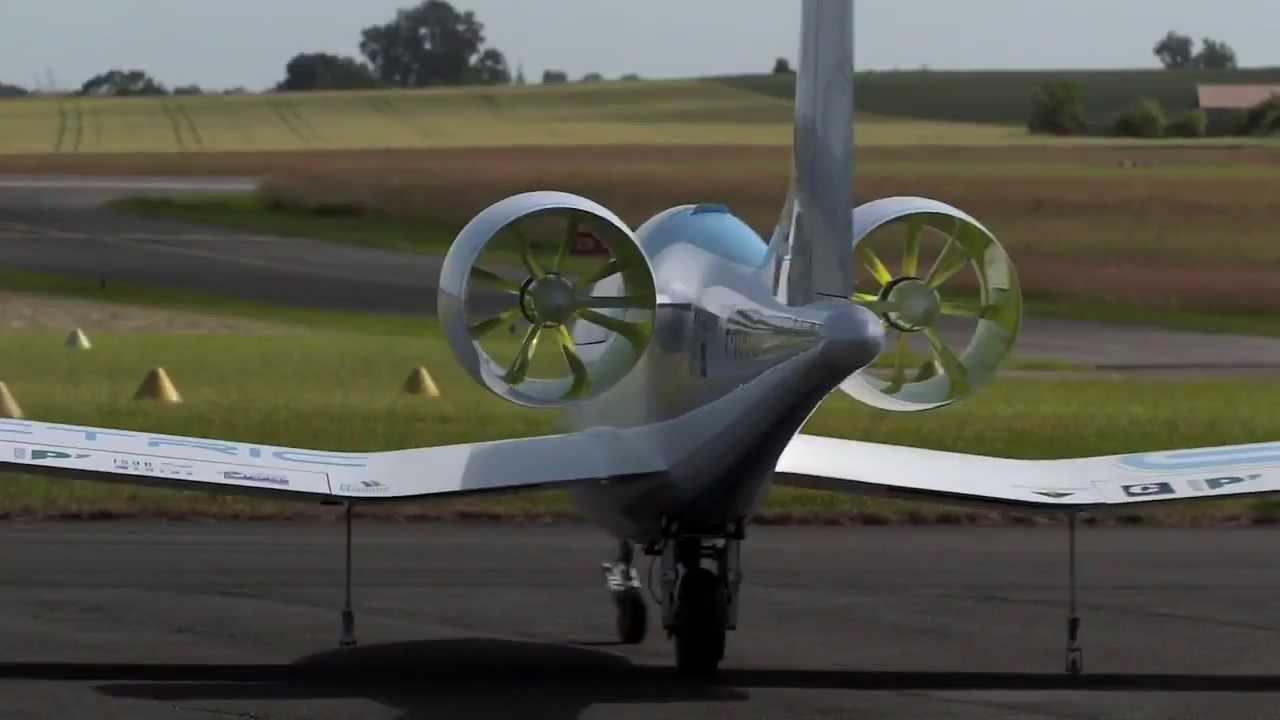 Eads Aero Composites Saintonge E Fan Electric Aircraft