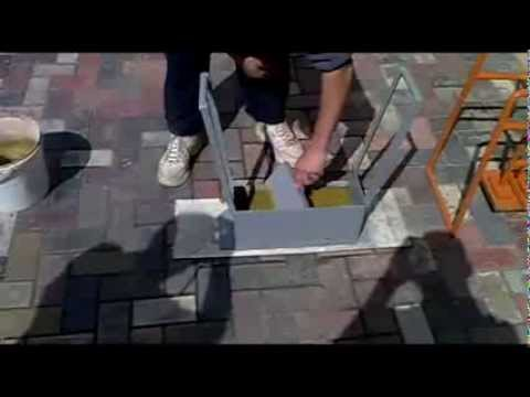 Adoquines hechos en casa c mo hacer youtube for Como colocar adoquines en el jardin