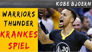 MVP Steph vs KD & Westbrook!! - Warriors vs Thunder 2016  - KobeBjoern kommentiert