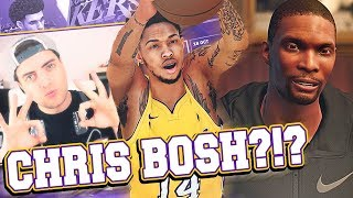 NBA 2K18 Lakers MyGM #1 - Visiting Chris Bosh In Miami! Brook Lopez Got DUMPED!