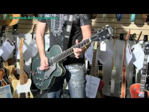 PHIL X MONDAY PEEPS!!! 1966 Gretsch Cats Eye Custom 01084 Video