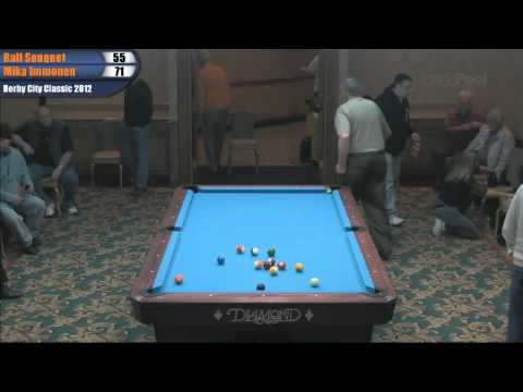 Ralf Souquet vs Mika Immonen at the Derby City Classic 14.1 Challenge