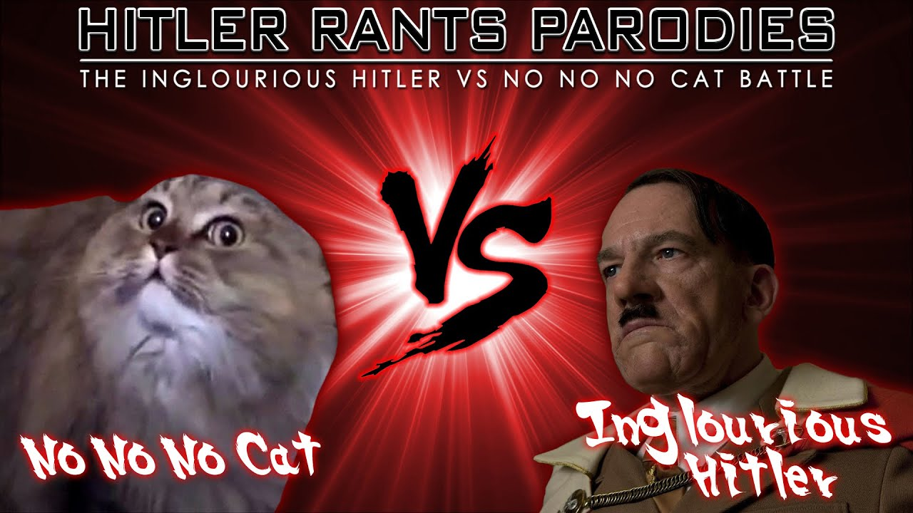 Inglourious Hitler Vs No No No Cat