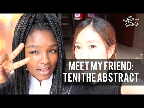 Meet My Friend In Korea: Teni The Abstract video