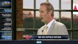 Steve Lyons Weighs In On Red Sox Outfield And Pitching Situation