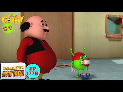 Denture Alien - Motu Patlu in Hindi - 3D Animated cartoon series for kids - As on Nick thumbnail