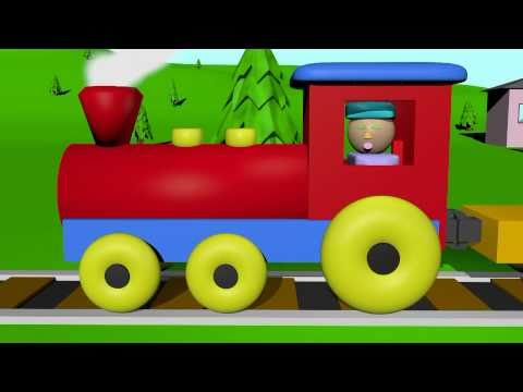 The Shape Train - Learning for Kids