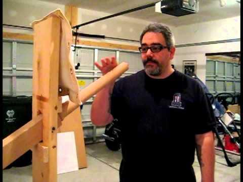 Wing Chun Gung Fu One Arm Wooden Dummy Drill Choy Lay Fut Jong
