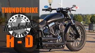 "Harley Davidson Softail Breakout ""Spoke"" by Thunderbike 