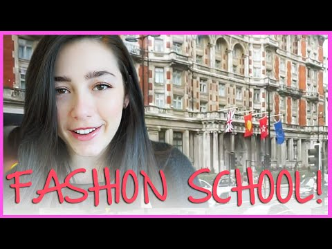 Fashion School In London! Vlogging With Scarrose522