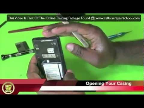 Cell Phone Repair Example Online Training