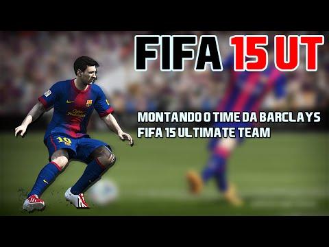 Fifa 15 UT ! Desafios - Montando o time da Barclays Parte 1 - PT BR PC