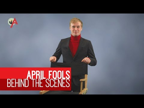 April Fools Through History: Behind The Scenes With Girl Thompson video