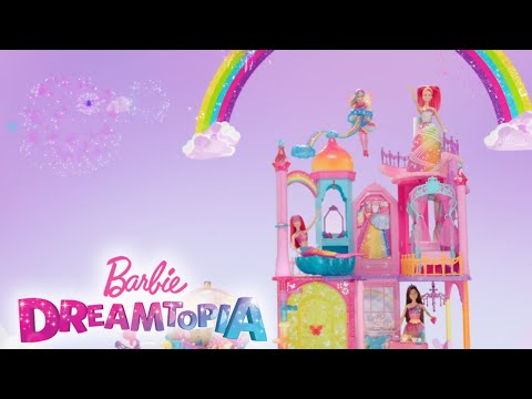 Barbie® Dreamtopia Rainbow Cove™ Castle, Princess, and Carriage | Barbie