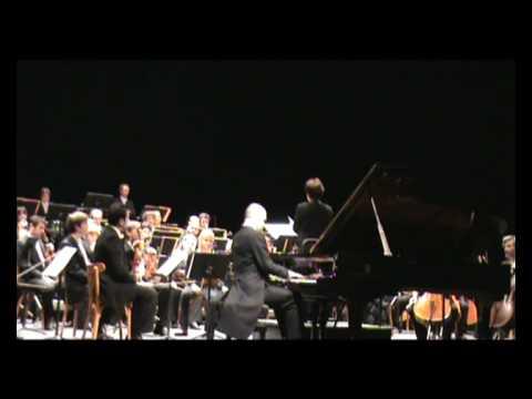 F.Liszt  Piano concerto No 1, (part 2), Jozef Kapustka
