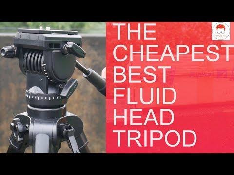 Best cheap tripod for DSLR with fluid head 2017