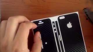 iPhone 5/5S CarbonFibre* Karbon Fiber Kaplama Uygulanabilir Hale Getirilmesi