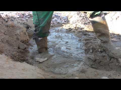 scally lad wearing me Hunter Balmoral gettin em trashed in mud