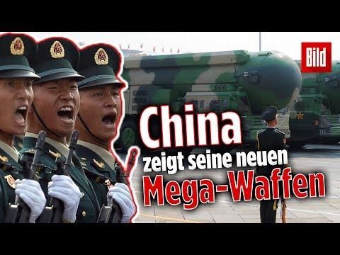 Militärparade zum 70. Geburtstag: China zeigt neue Waffen