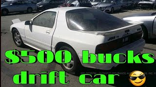 How to rebuild 13b rotary engine rx8 rx7;  drift car under $500  drift project car   fc s5 mazda rx7