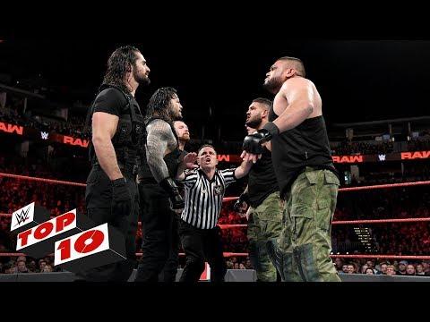 Top 10 Raw moments: WWE Top 10, September 24, 2018 thumbnail