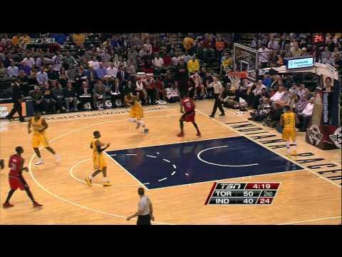 Raptors Highlights: Lowry To DeRozan Alley-Oop - March 16, 2015